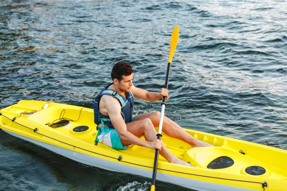 Why do kayaks have holes in them